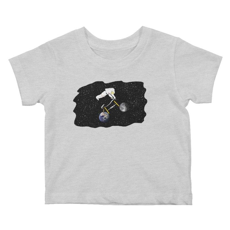 Tour d'Éspace Kids Baby T-Shirt by justintapp's Artist Shop