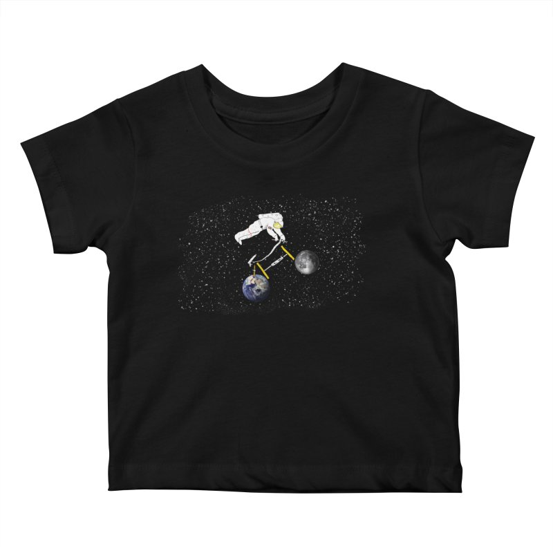 Tour d'Éspace Kids Baby T-Shirt by Justin Tapp's Artist Shop