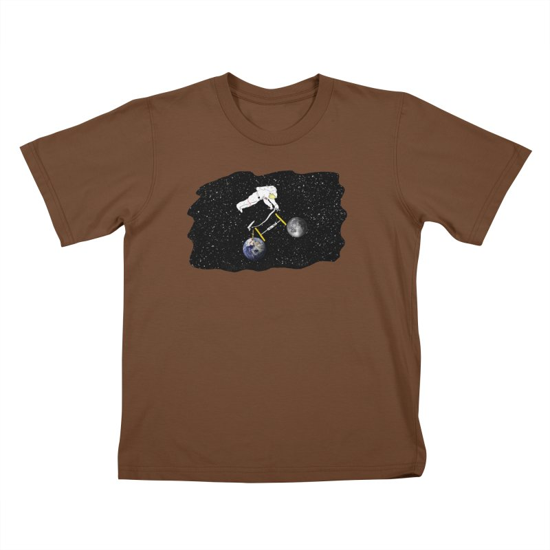 Tour d'Éspace Kids T-Shirt by justintapp's Artist Shop