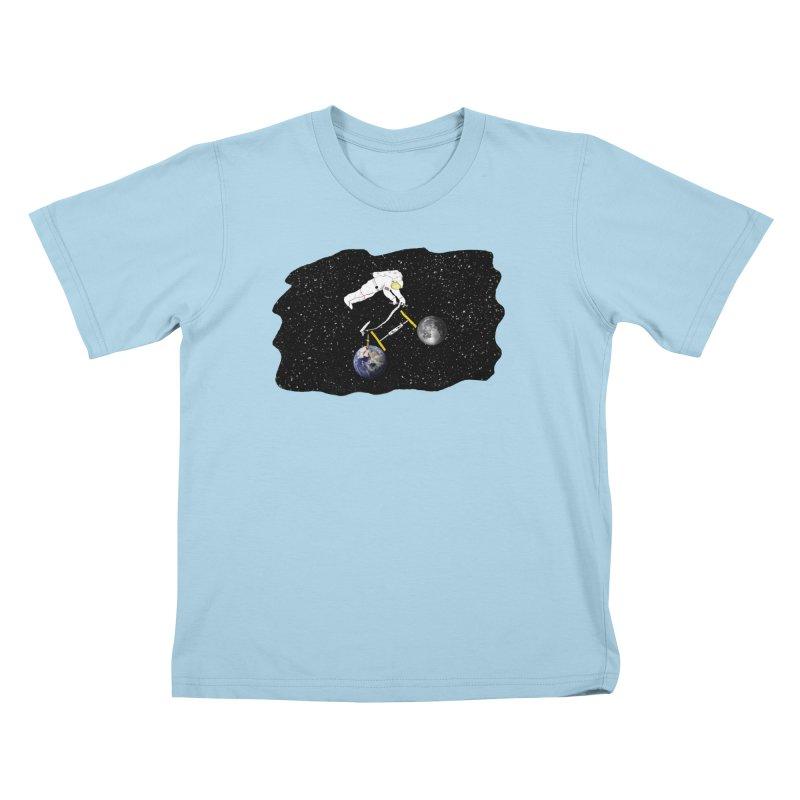 Tour d'Éspace Kids T-Shirt by Justin Tapp's Artist Shop
