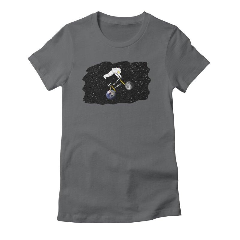 Tour d'Éspace Women's Fitted T-Shirt by justintapp's Artist Shop