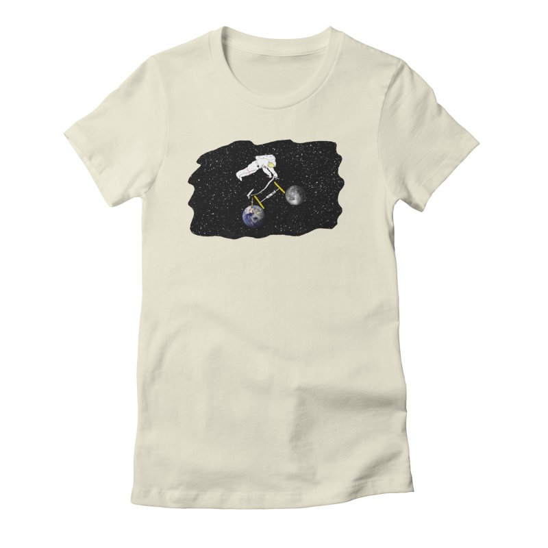 Tour d'Éspace Women's Fitted T-Shirt by Justin Tapp's Artist Shop