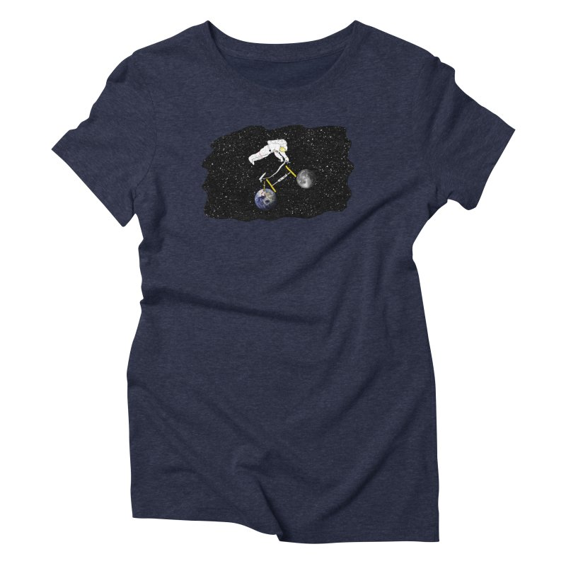 Tour d'Éspace Women's Triblend T-Shirt by Justin Tapp's Artist Shop