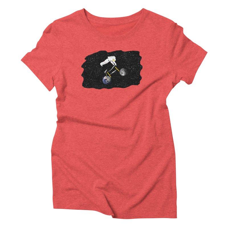 Tour d'Éspace Women's Triblend T-Shirt by justintapp's Artist Shop