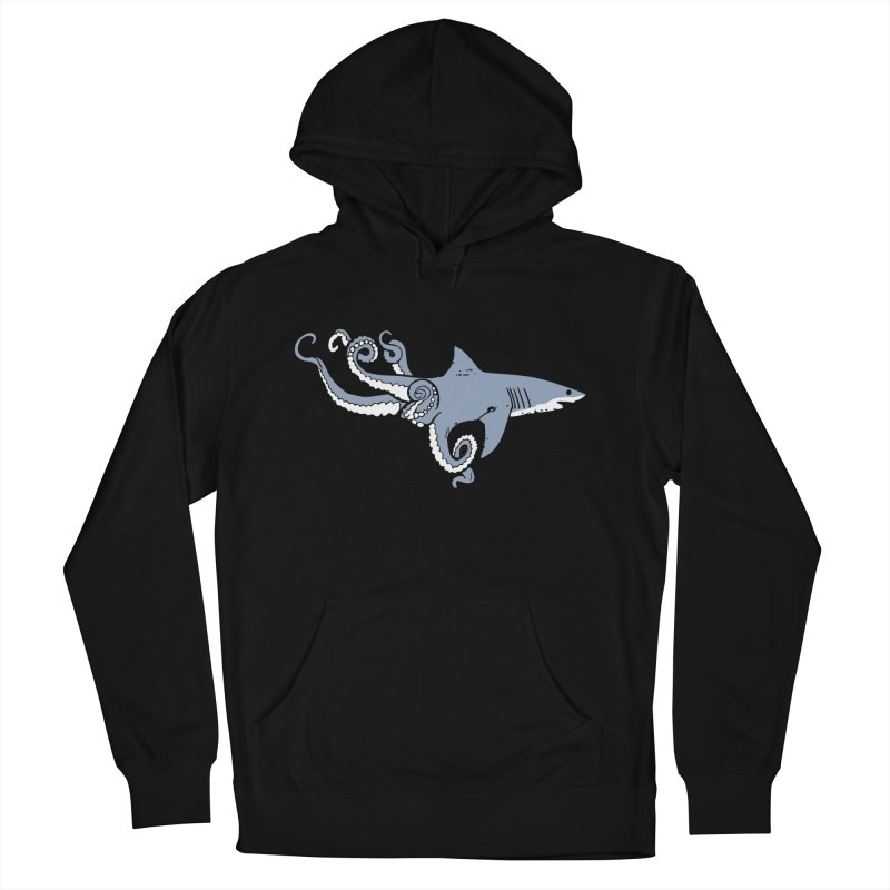Sharktopus Men's Pullover Hoody by Justin Tapp's Artist Shop