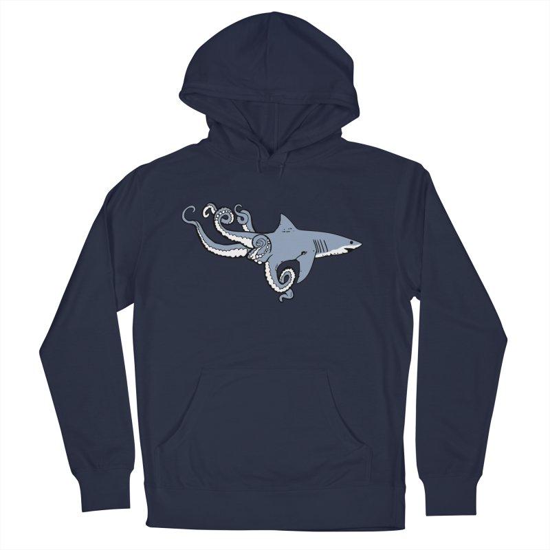 Sharktopus Men's Pullover Hoody by Justin Tapp's Artist Shop