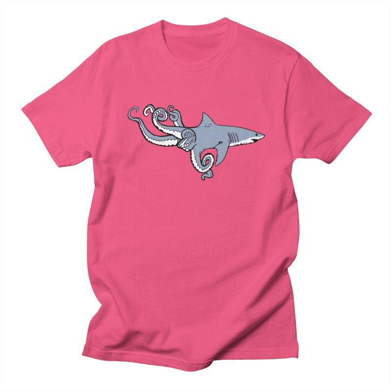 Sharktopus Women's T-Shirt by Justin Tapp's Artist Shop