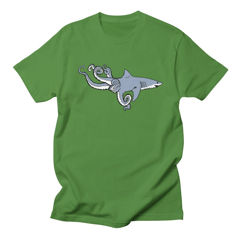 Sharktopus Women's Regular Unisex T-Shirt by justintapp's Artist Shop