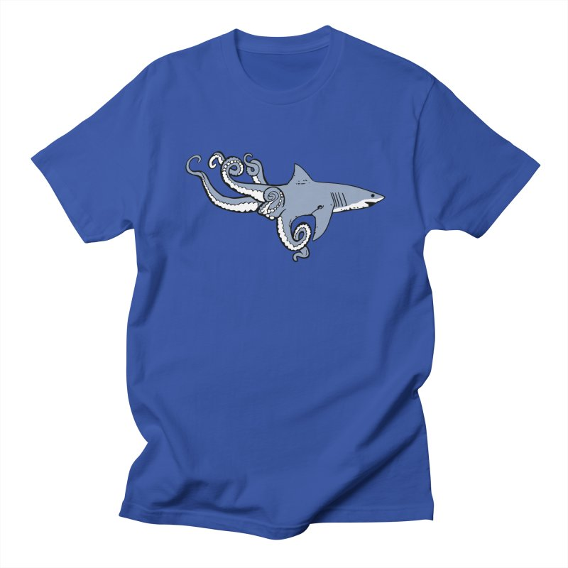 Sharktopus Men's Regular T-Shirt by justintapp's Artist Shop