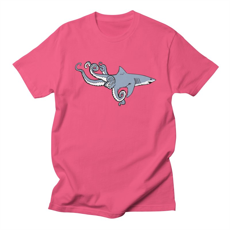 Sharktopus Men's Regular T-Shirt by Justin Tapp's Artist Shop