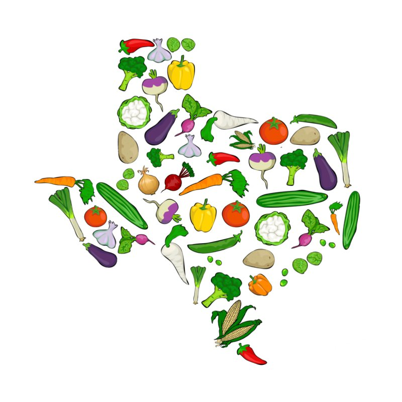 Farm Fresh Texas by justintapp's Artist Shop