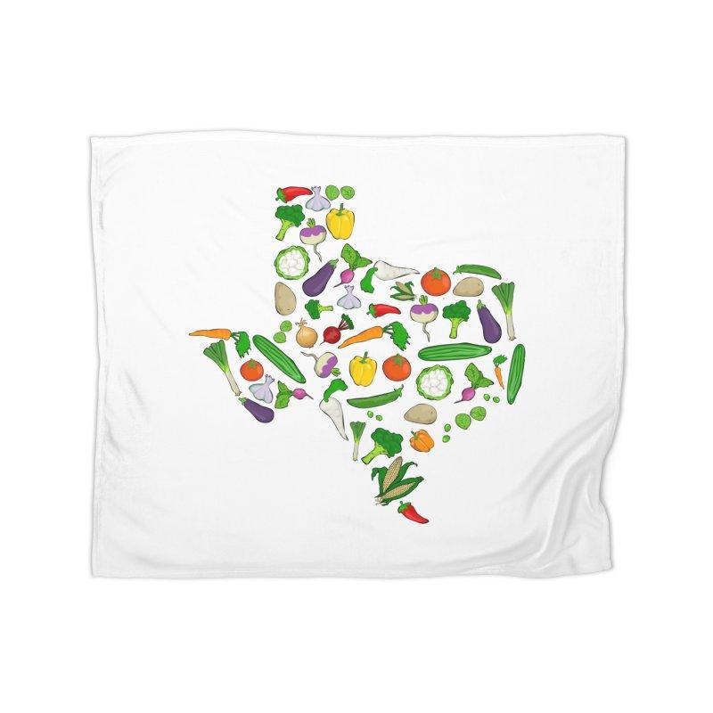 Farm Fresh Texas Home Blanket by justintapp's Artist Shop