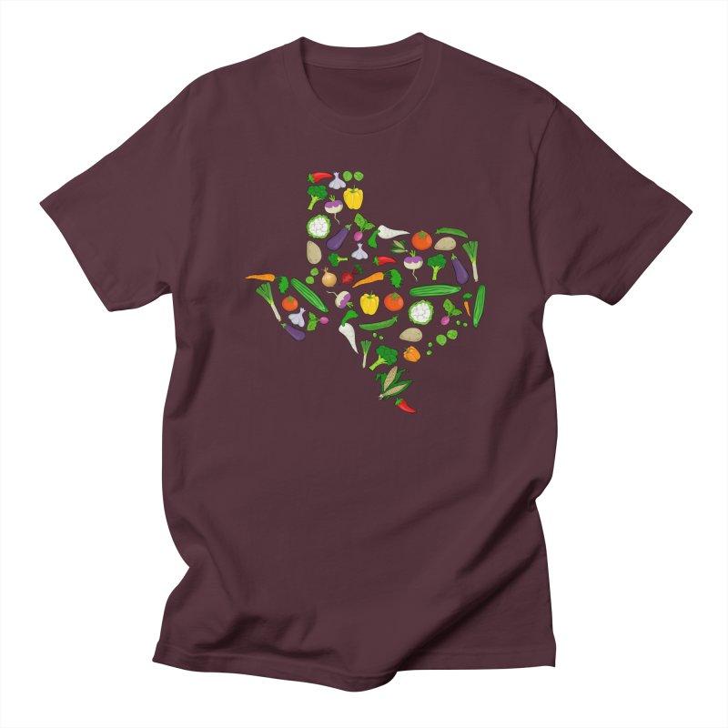 Farm Fresh Texas Men's Regular T-Shirt by justintapp's Artist Shop