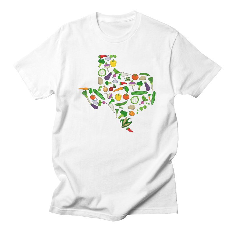 Farm Fresh Texas Women's Regular Unisex T-Shirt by justintapp's Artist Shop