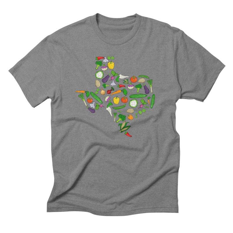 Farm Fresh Texas Men's Triblend T-Shirt by justintapp's Artist Shop
