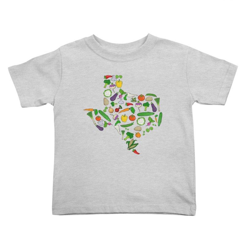 Farm Fresh Texas Kids Toddler T-Shirt by justintapp's Artist Shop