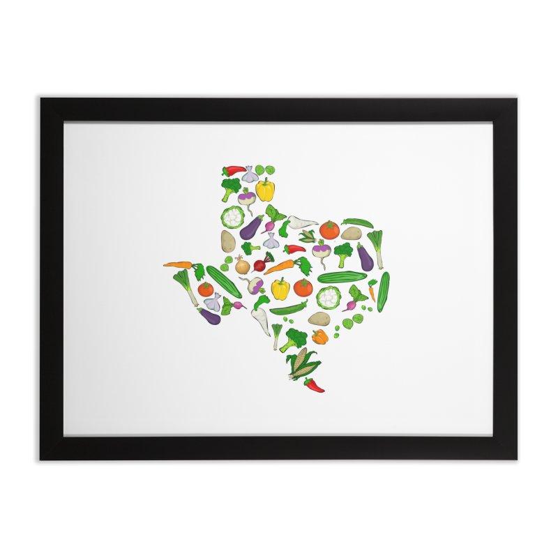 Farm Fresh Texas Home Framed Fine Art Print by justintapp's Artist Shop
