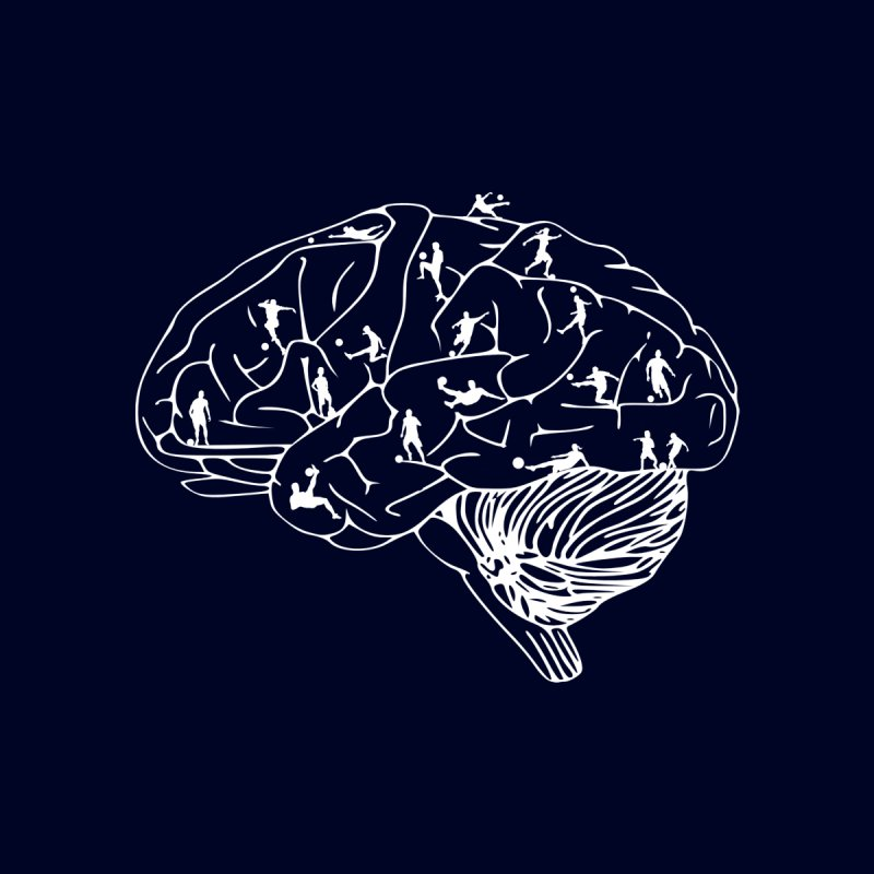 Soccer on the Brain by justintapp's Artist Shop
