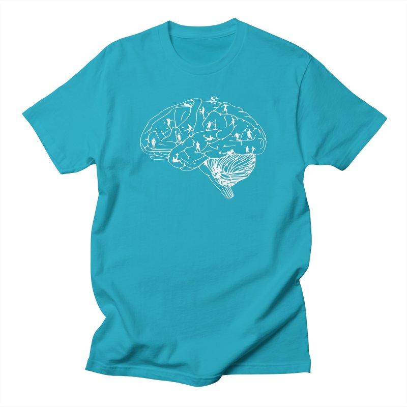 Soccer on the Brain Women's Regular Unisex T-Shirt by justintapp's Artist Shop