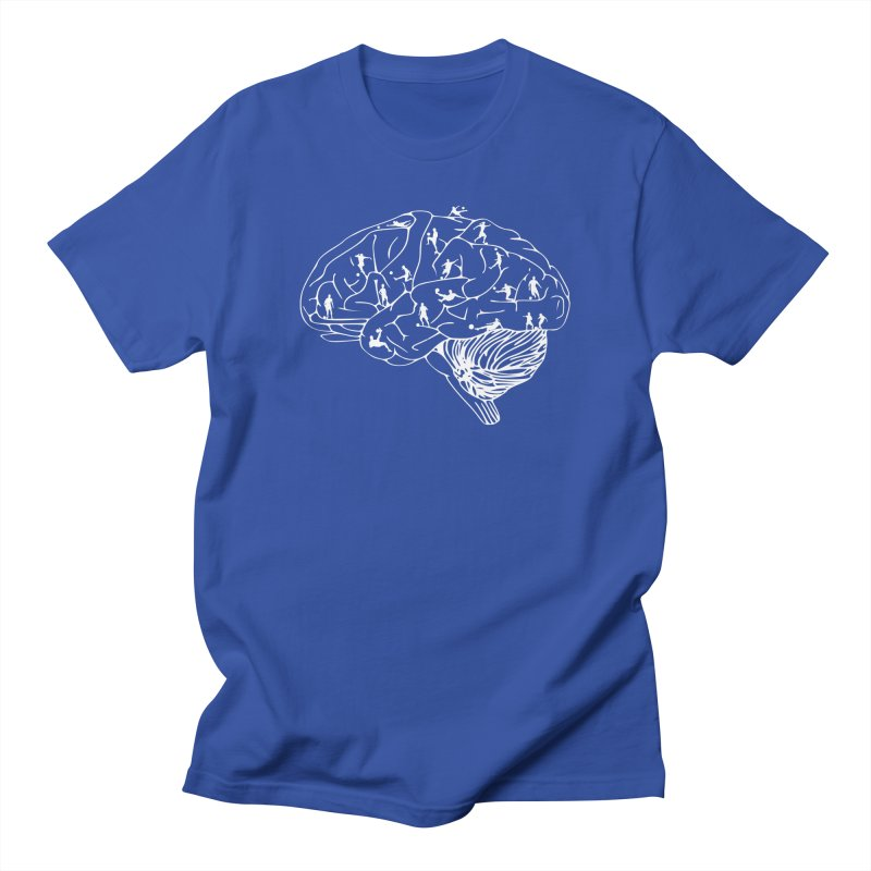 Soccer on the Brain Women's Regular Unisex T-Shirt by justintapp's Artist Shop