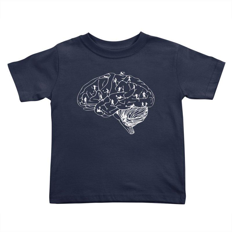 Soccer on the Brain Kids Toddler T-Shirt by justintapp's Artist Shop