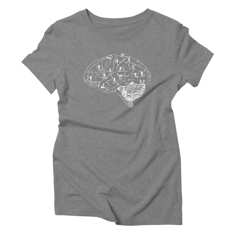 Soccer on the Brain Women's Triblend T-Shirt by justintapp's Artist Shop
