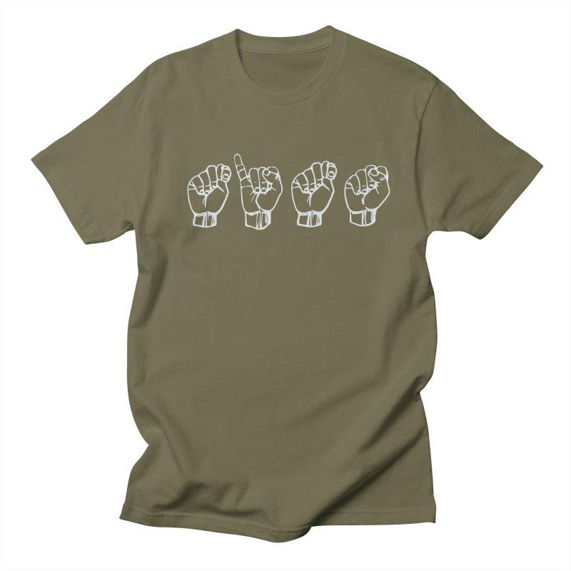 Natural Signs Men's Regular T-Shirt by justintapp's Artist Shop