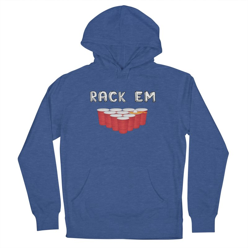 Rack Em Men's French Terry Pullover Hoody by justintapp's Artist Shop