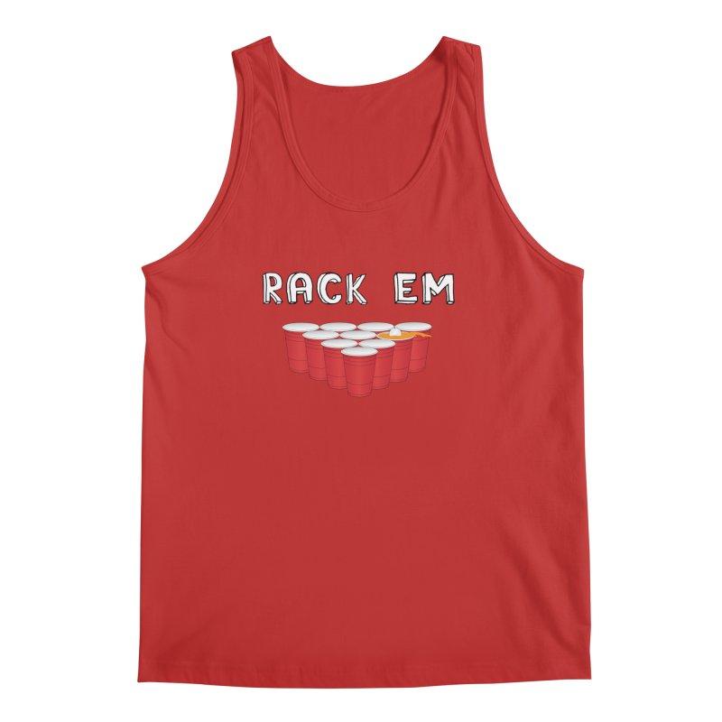 Rack Em Men's Regular Tank by justintapp's Artist Shop
