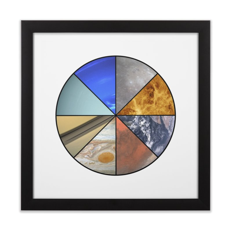 Pizza Planet Home Framed Fine Art Print by Justin Tapp's Artist Shop