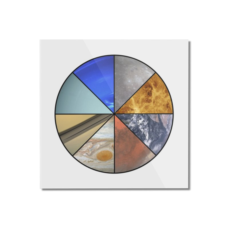 Pizza Planet Home Mounted Acrylic Print by Justin Tapp's Artist Shop
