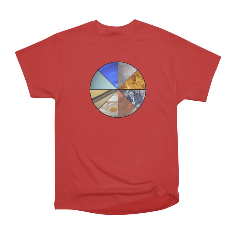 Pizza Planet Women's Heavyweight Unisex T-Shirt by justintapp's Artist Shop