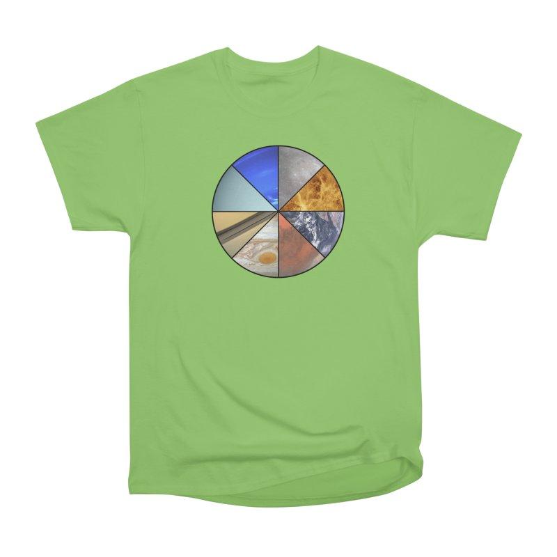 Pizza Planet Men's Heavyweight T-Shirt by Justin Tapp's Artist Shop