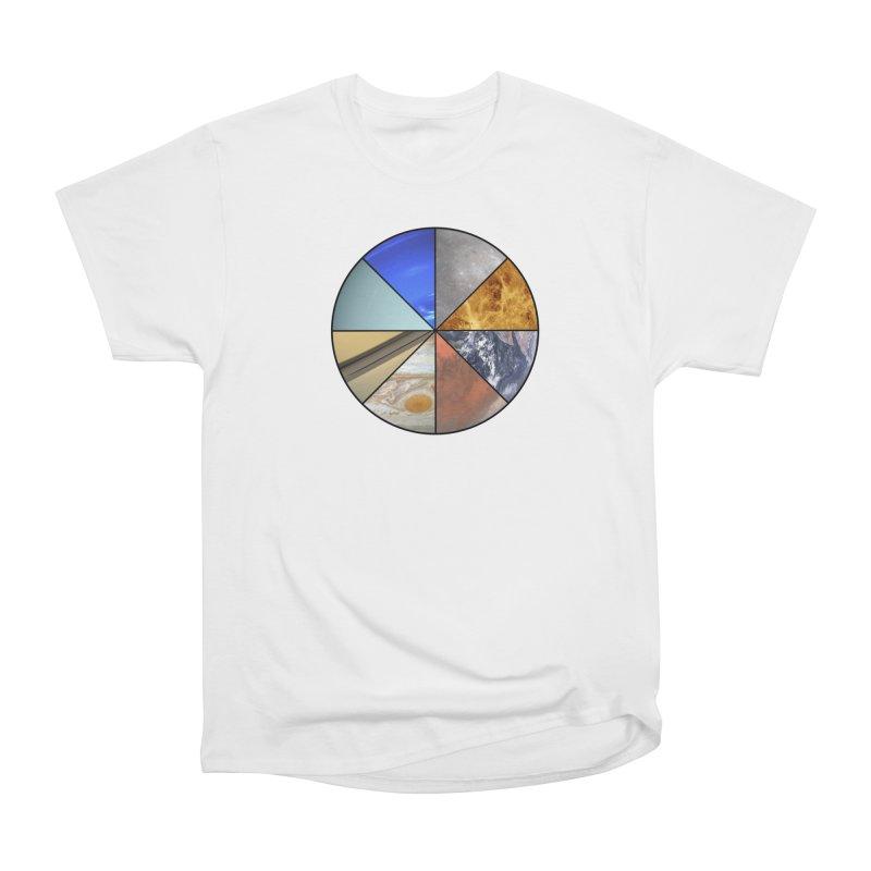 Pizza Planet Women's Heavyweight Unisex T-Shirt by Justin Tapp's Artist Shop