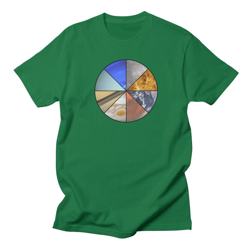 Pizza Planet Men's Regular T-Shirt by Justin Tapp's Artist Shop