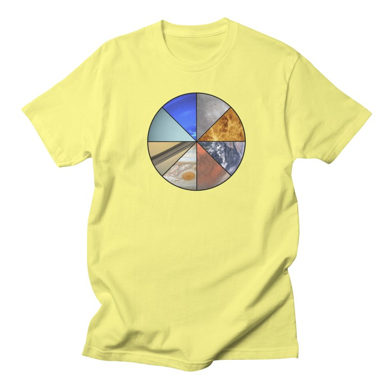 Pizza Planet Women's Regular Unisex T-Shirt by Justin Tapp's Artist Shop