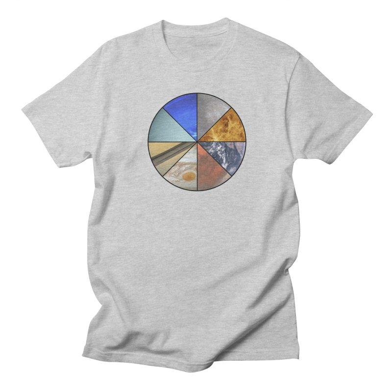 Pizza Planet Men's Regular T-Shirt by Justin Tapp's Artist Shop