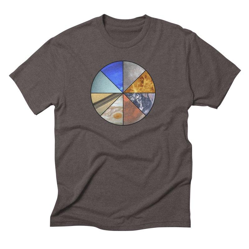 Pizza Planet Men's Triblend T-Shirt by Justin Tapp's Artist Shop