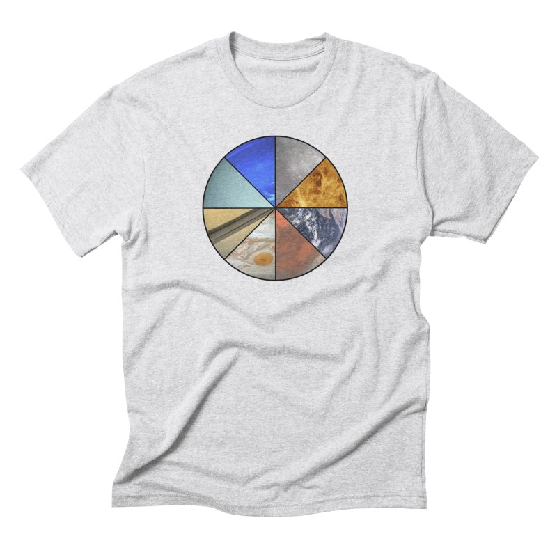 Pizza Planet Men's Triblend T-Shirt by Justin Tapp's Artist Shop
