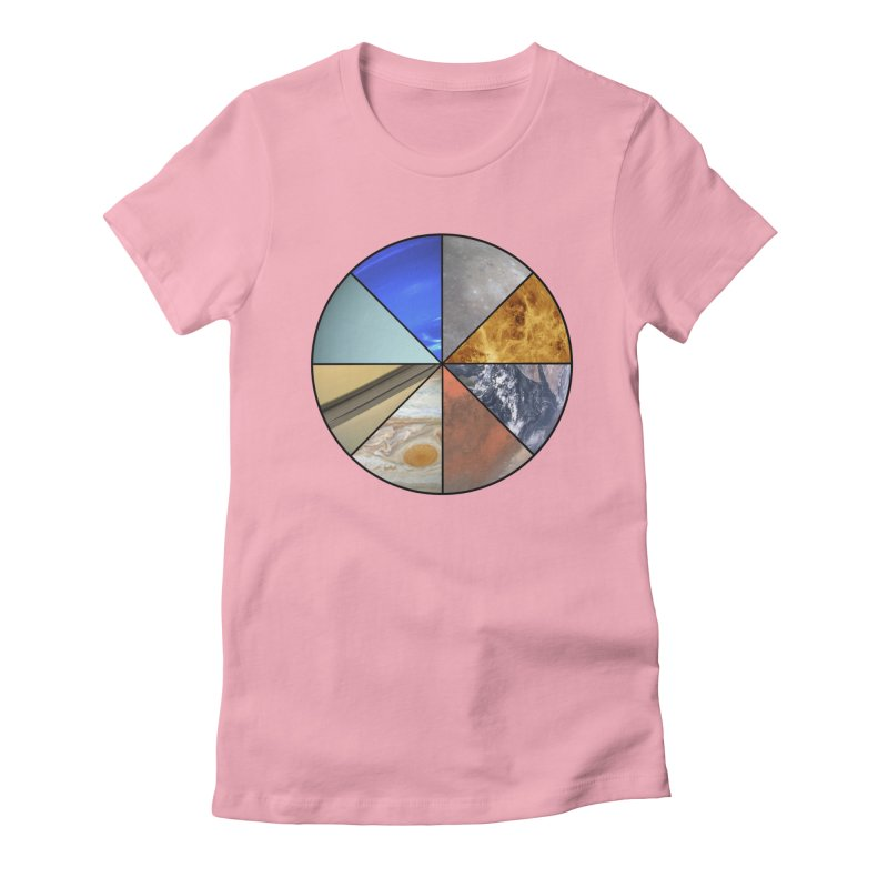 Pizza Planet Women's Fitted T-Shirt by justintapp's Artist Shop