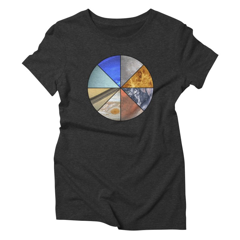 Pizza Planet Women's Triblend T-Shirt by justintapp's Artist Shop