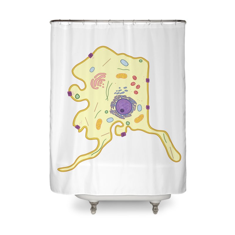 Alaskaryotic Home Shower Curtain by justintapp's Artist Shop