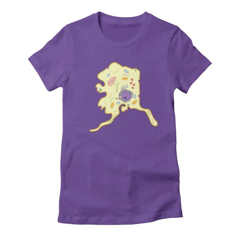 Alaskaryotic Women's Fitted T-Shirt by justintapp's Artist Shop