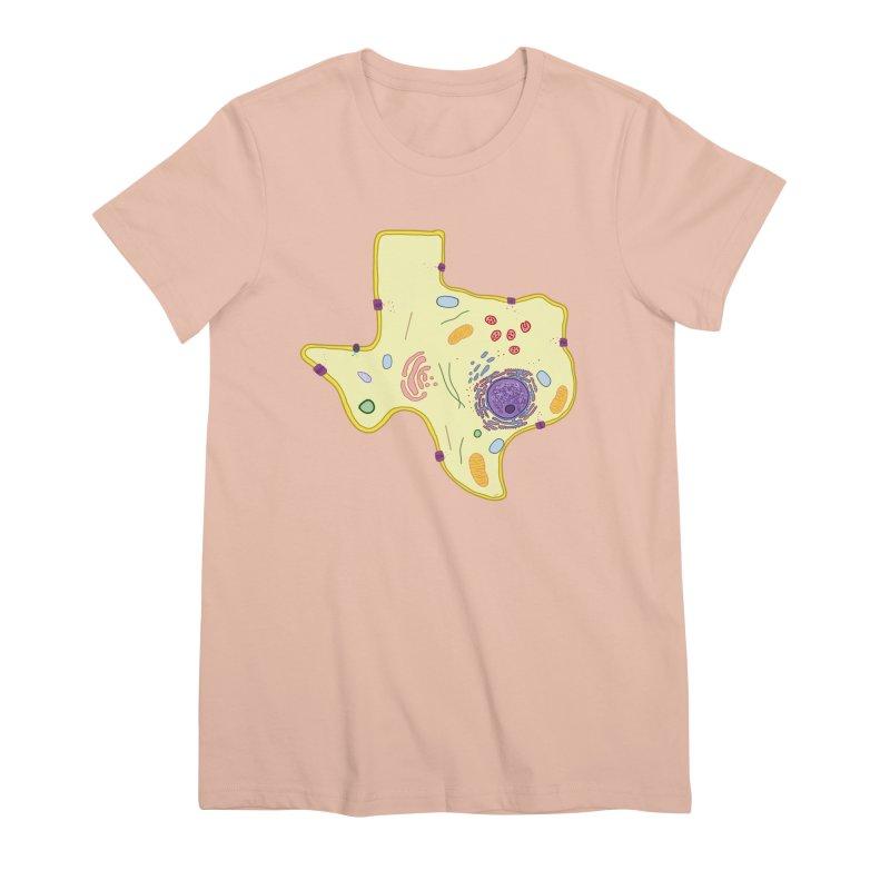 Cell Biyallogy Women's Premium T-Shirt by justintapp's Artist Shop