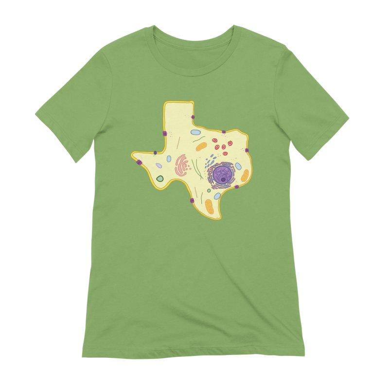 Cell Biyallogy Women's Extra Soft T-Shirt by Justin Tapp's Artist Shop