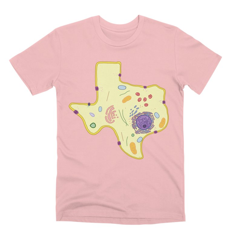 Cell Biyallogy Men's Premium T-Shirt by Justin Tapp's Artist Shop