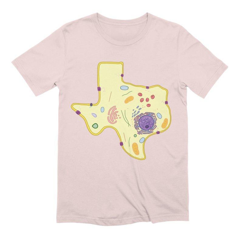Cell Biyallogy Men's Extra Soft T-Shirt by Justin Tapp's Artist Shop
