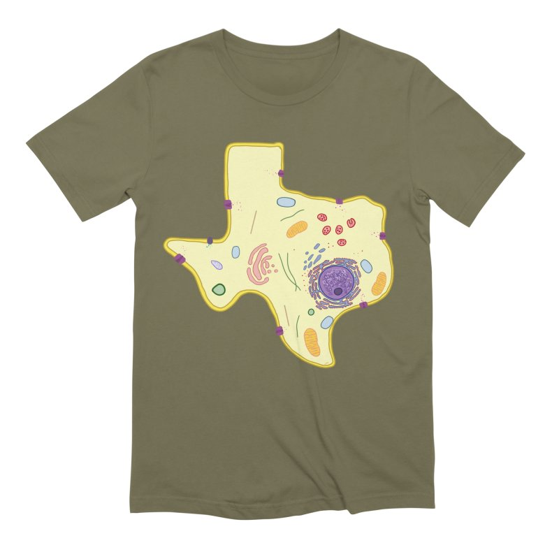 Cell Biyallogy Men's Extra Soft T-Shirt by justintapp's Artist Shop