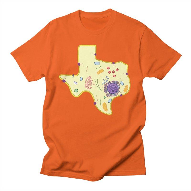 Cell Biyallogy Women's Regular Unisex T-Shirt by Justin Tapp's Artist Shop