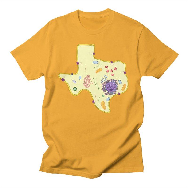 Cell Biyallogy Men's Regular T-Shirt by Justin Tapp's Artist Shop